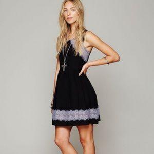 Free People Georgia Lace Dress size XS